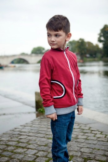 Maroon Zip Hoodie  Our Family Four 8