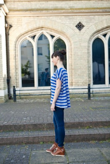 Blue Striped Piko 5