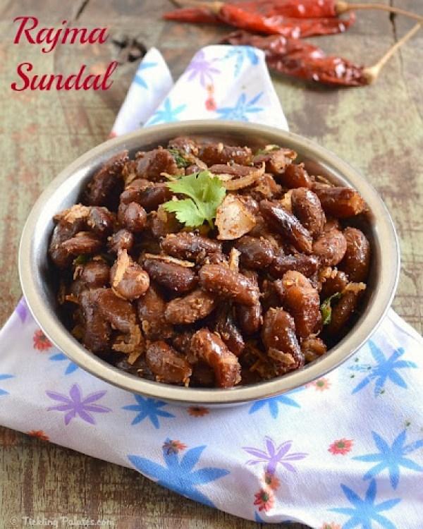 Kidney beans Sundal