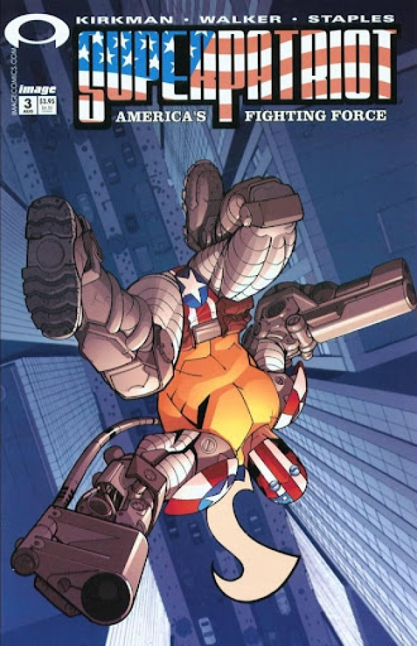 003 Superpatriot - America's Fighting Force #3 - Page 1