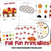 Fall Fun Learning Pack ~ Free Printables