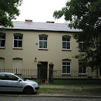 Modernized single family house in the poor district of Chorzów Stary.