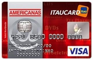 Como solicitar Cartão Americanas Itaucard Internacional Visa