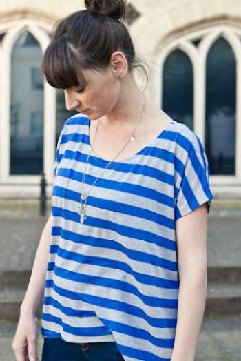 Blue Striped Piko 9