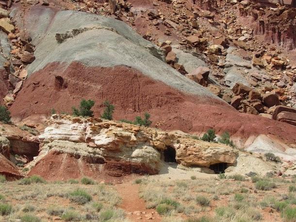 Oyler Mine - Early Uranium Mine - Capitol Reef