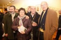 Navidad 2008 en Akros. Pedro Manso, Rosa María Stinus, Felix Urrutia, Jose Luis Otaegui.