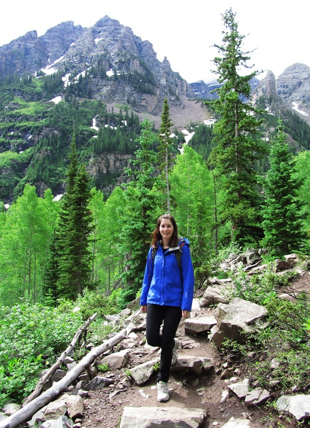 Renee on the Maroon Bells Walk