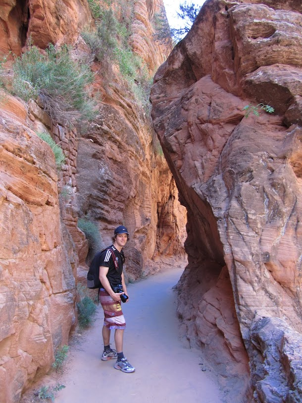 Through Refrigerator Canyon - Second Section up to Angels Landing