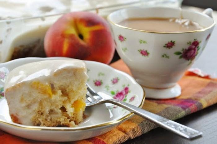 Sweet Peach Cake