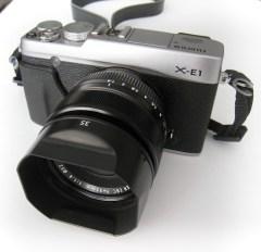 Fujifilm X-E1 with XF 35mm F1.4