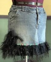 jupe de jeans