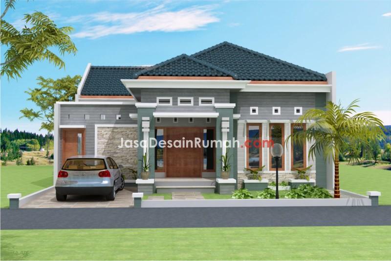 desain rumah milik bapak ridwan di yogyakarta