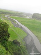 Waterfall 2 - View from the top - Iceland.JPG