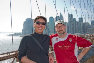 Min and Bob in New York