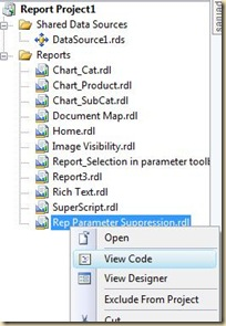 Select View Code