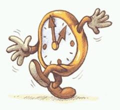 Relógio de tempo
