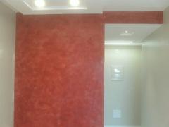 Decoração de paredes com texturas