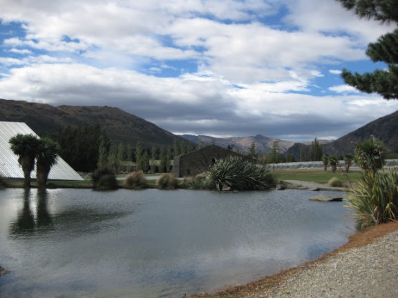 Peregrine winery off SH 6 near Queenstown