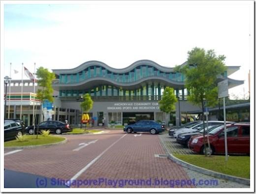 Anchorvale CC Sengkang Sports and Recreaion Centre
