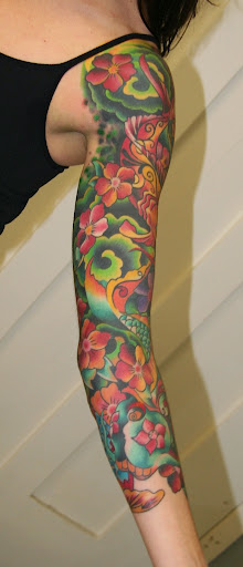 girls sleeve tattoos