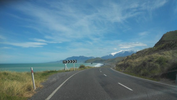 SH1 from Blenheim to Kaikoura