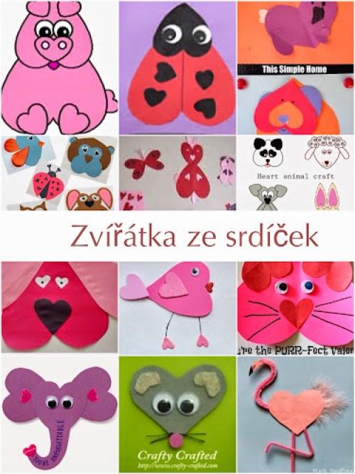 Tvoření pro malé děti na Valentýna