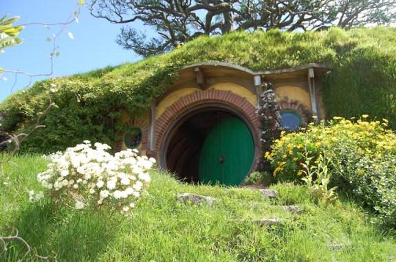 Hobbiton movie set near Matamata