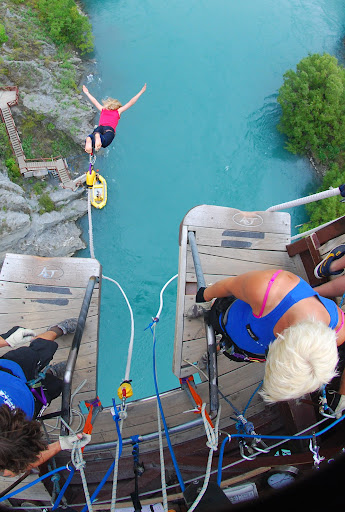 Even the bungy is in stunning scenery! Kawarau Bridge bungy, Queenstown