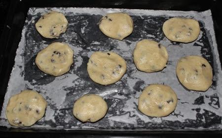 Eggless Condensed Milk Chocolate Chip Cookies Recipe