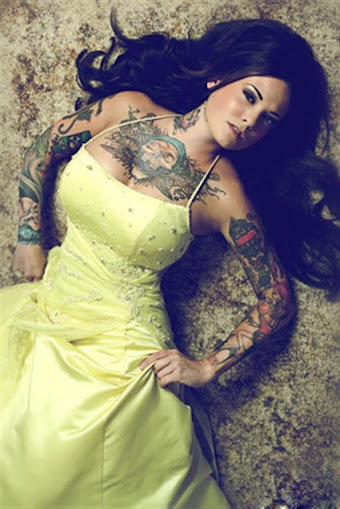 skull city chest tattoos