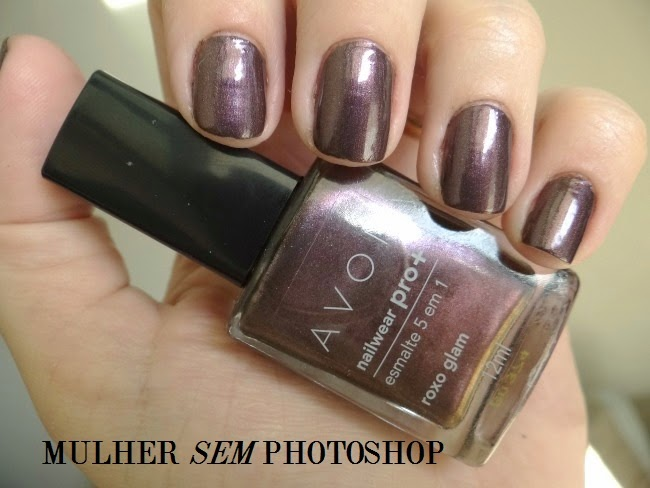 Esmalte Avon Nailwear Pro Roxo Glam