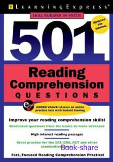 501 Reading Comprehension Questions 4th Edition (Skill Builder in Focus)