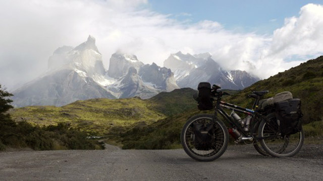 Bicycles below El Chalten