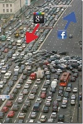 G+ vs FB