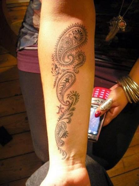 mehndi tattoos designs for girls