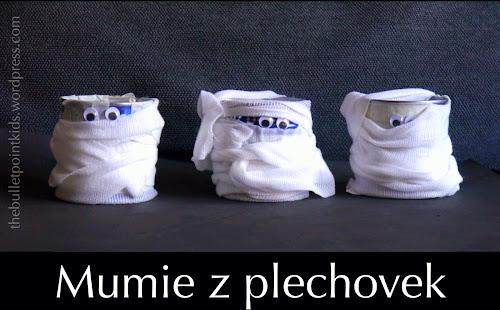 Dekorace na Halloween Mumie