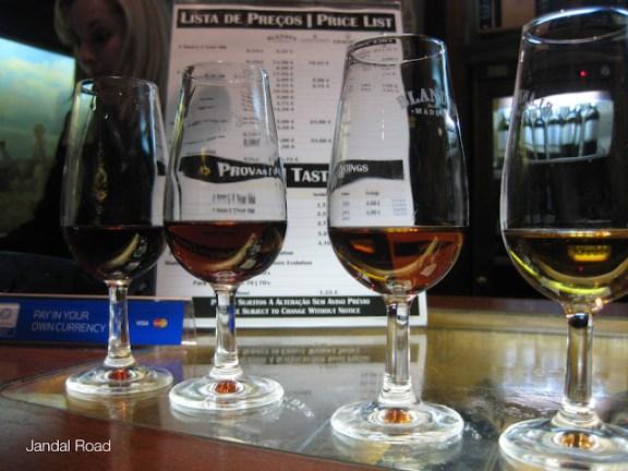 Blandys Madeira wine