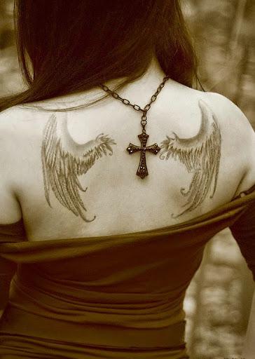 wings angel tattoos