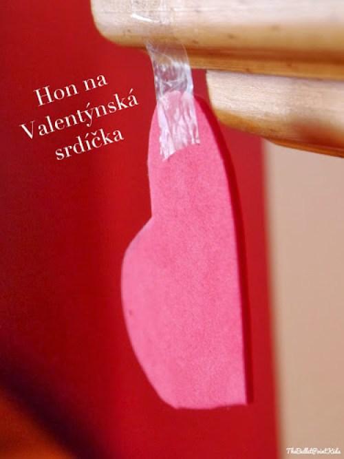 Hra pro děti na Valentýna