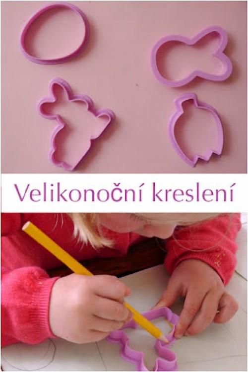 Kreslení pro děti Velikonoce
