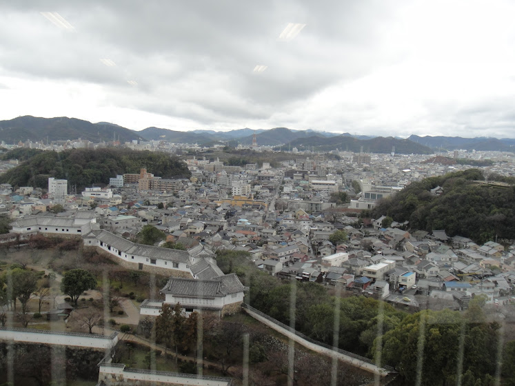 Himeji Town from Egret's eye
