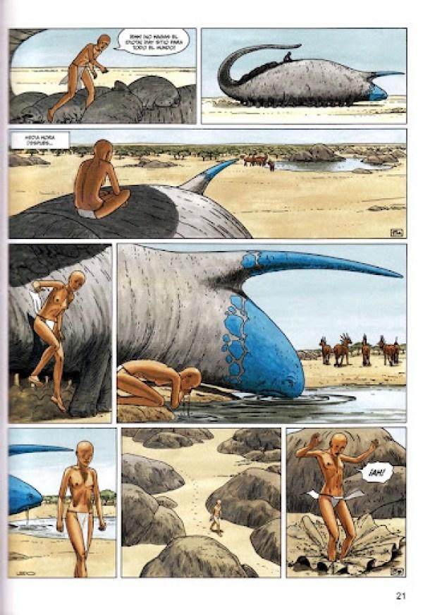 Leo - Los Mundos de Aldebarán Integral  - FR #2 - página 21