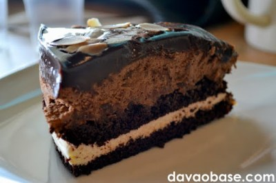 Regal Chocolate Cake at Bo's Coffee Abreeza