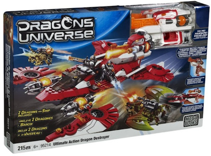 Mega Blocks Dragon Universe 2