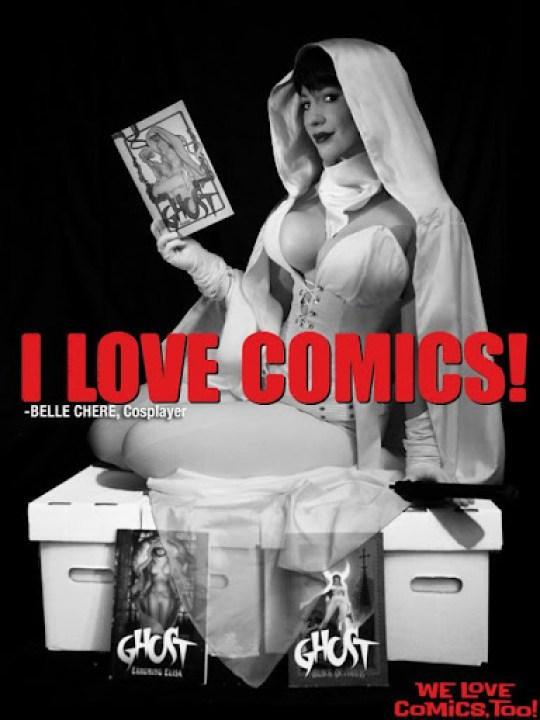 BelleChere as Ghost - I Love Comics