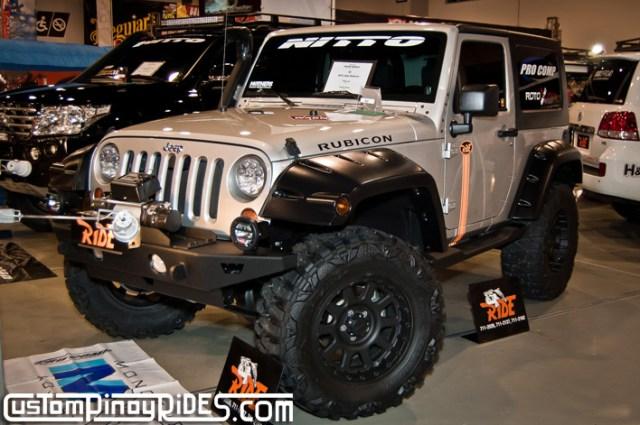 Manila Auto Salon Custom Pinoy Rides jeep Wrangler Rubicon