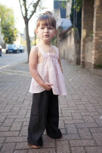 Olivia Top and Hosh Pants at Our Family Four 11