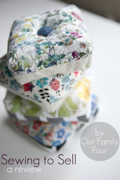 Liberty Pincushions Group Sewing to Sell watermark