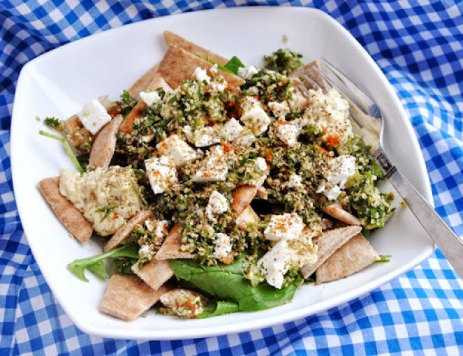 greek pita salad (2)