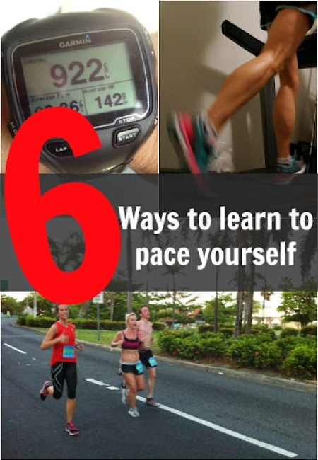 6 ways to learn to pace yourself